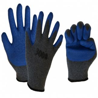 Перчатки акриловые с рельефным латексным покрытием