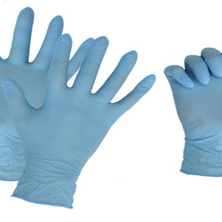 Перчатки нитриловые одноразовые