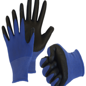 Перчатки нейлоновые с нитриловым покрытием